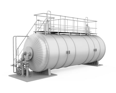 Pressure Vessel Tank Isolated 写真素材