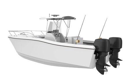 Fishing Boat Isolated 版權商用圖片