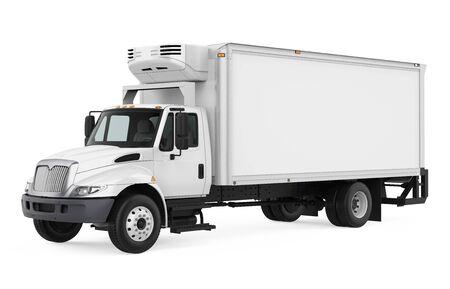 Camión refrigerado aislado