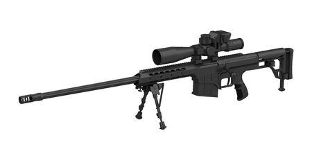 Sniper Rifle Isolated