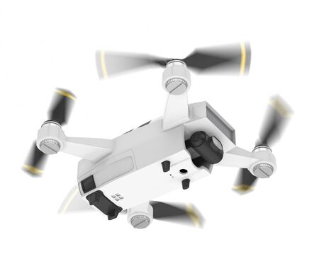 Drone Quadcopter Isolated