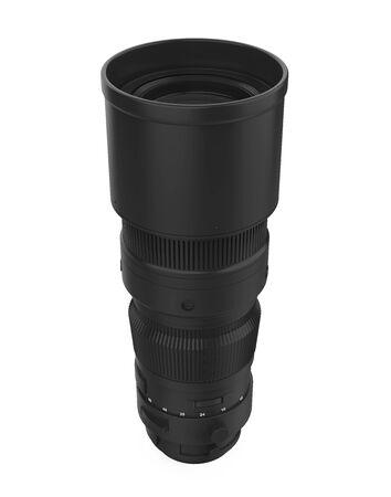 Telephoto Lens Isolated