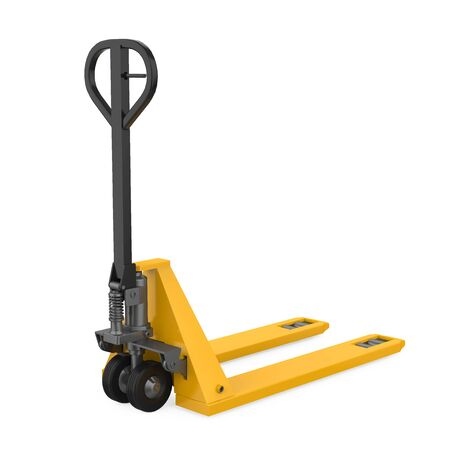 Pallet Truck Isolated