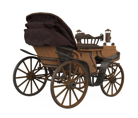 Classic Carriage Isolated