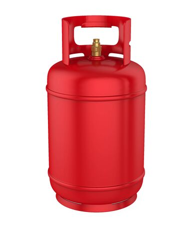 Gas Cylinder Isolated Imagens