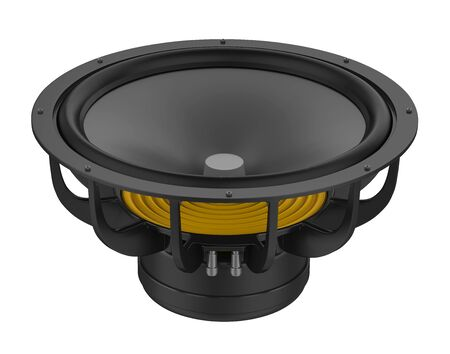 Sound Audio Loudspeakers Isolated