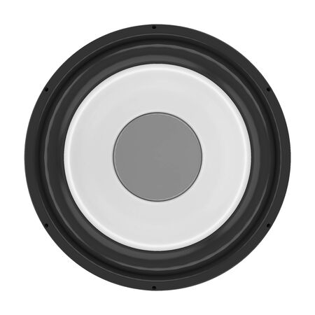 Sound Audio Loudspeakers Isolated 스톡 콘텐츠 - 130154332