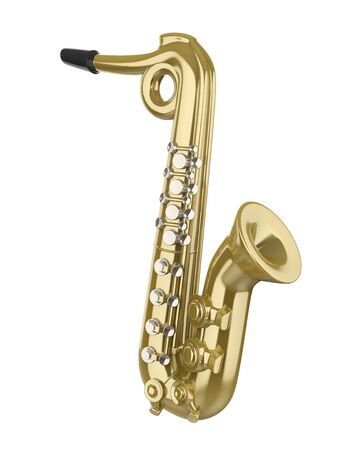 Saxophone Music Instrument Isolated
