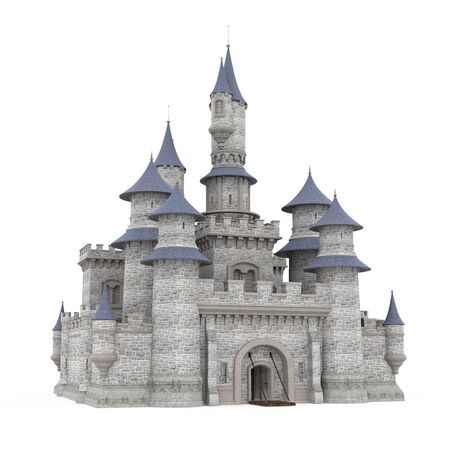 Castle Isolated Imagens