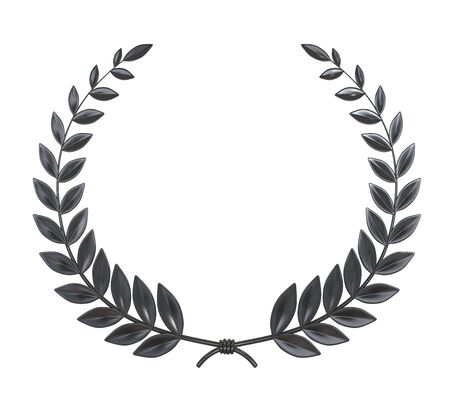 Laurel Wreath Isolated Фото со стока - 131987649