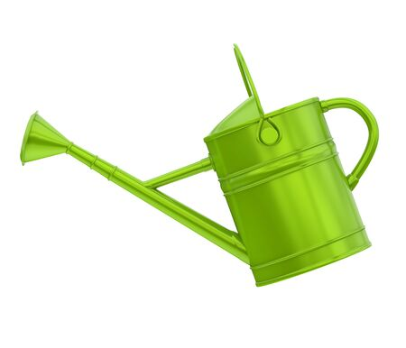 Watering Can Isolated Stock Photo