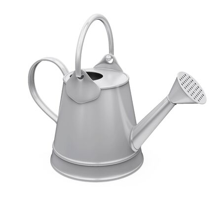 Watering Can Isolated Stock Photo - 132002124