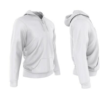 Hoodie Jacket Isolated