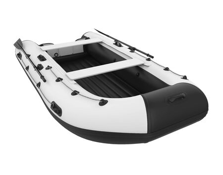 Inflatable Boat Isolated Standard-Bild