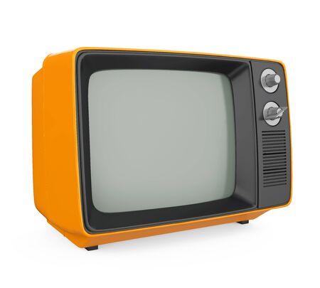 Retro Television Isolated