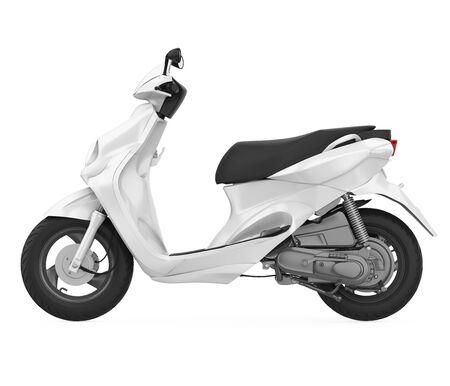 Moto Scooter Isolato