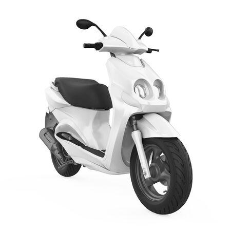 Roller Motorrad isoliert
