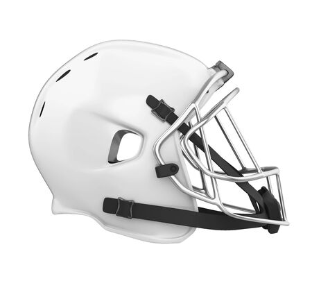 American Football Helmet Isolated Banco de Imagens