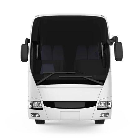 Coach Bus Isolated 스톡 콘텐츠