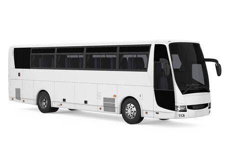Reisebus isoliert Standard-Bild