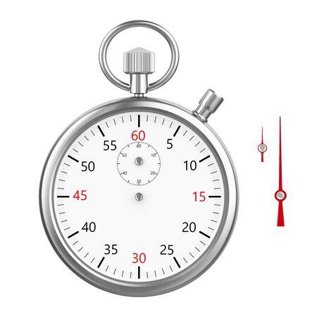 Chronomètre isolé Banque d'images