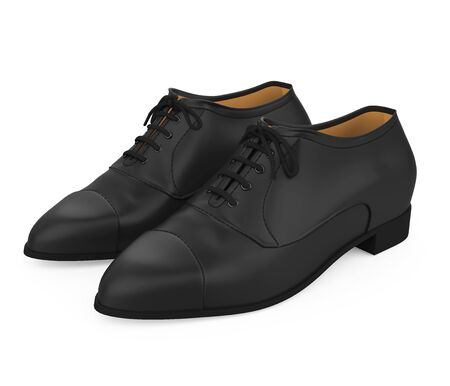 Formal Shoes Isolated 스톡 콘텐츠