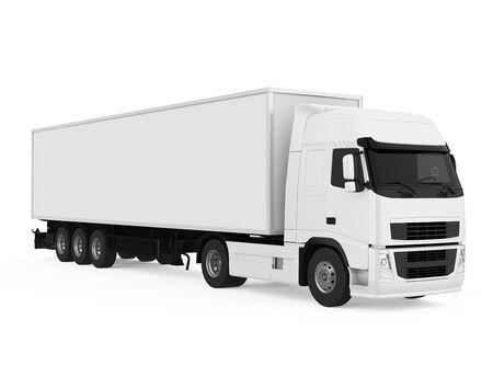 Camion conteneur isolé