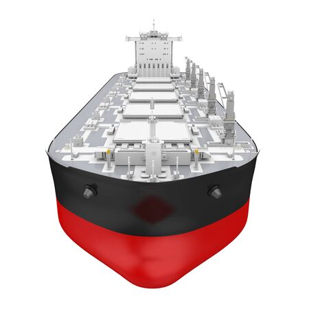 Freight Ship Isolated