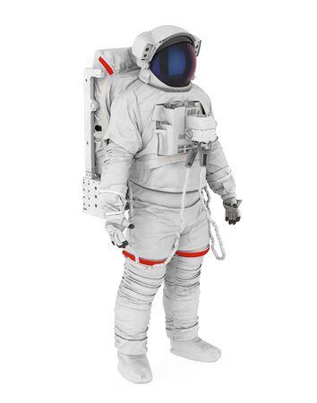 Astronaut Isolated Stock Photo