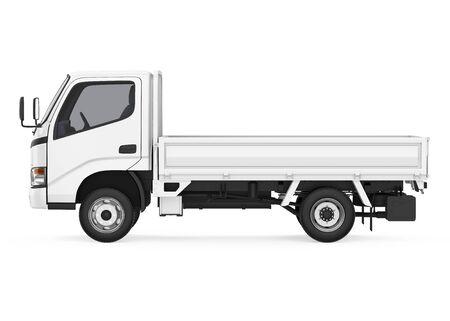 Camion à plat isolé