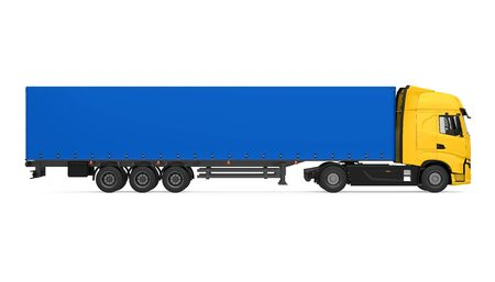 Container Truck Isolated