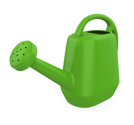 Watering Can Isolated Stockfoto
