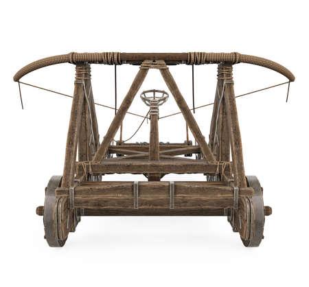 Roman Catapult Isolated Standard-Bild