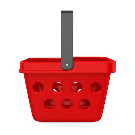 Shopping Basket Isolated