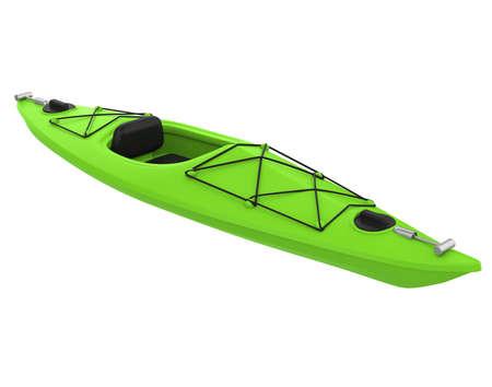 Kayak Isolated Stockfoto