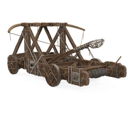 Roman Catapult Isolated