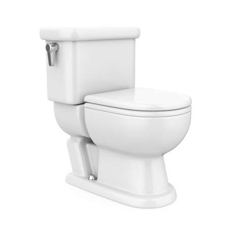 Toilet Bowl Isolated