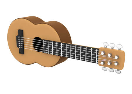 Acoustic Guitar Isolated