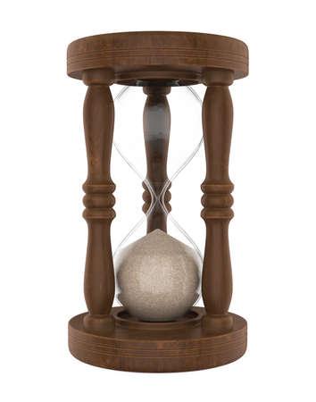Hourglass Isolated
