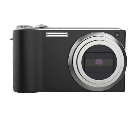 Digital Compact Camera Isolated