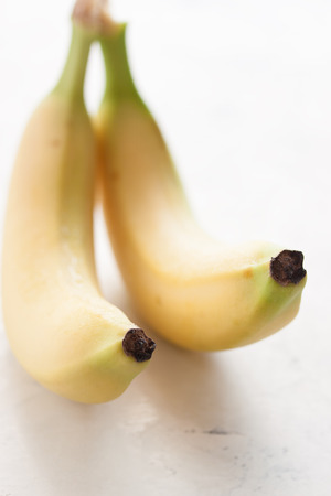 energizing: Closeup of bananas. selective focus