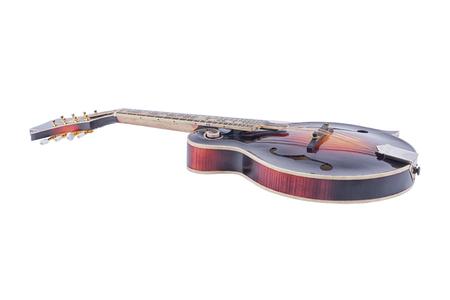 mandolin: Mandolin isolated on a white background
