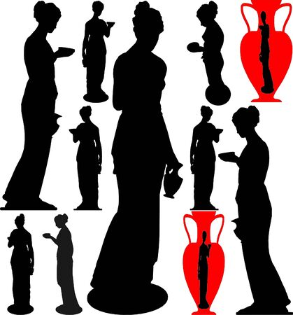 Antique Statue Of Venus Stock Vector - 7908946