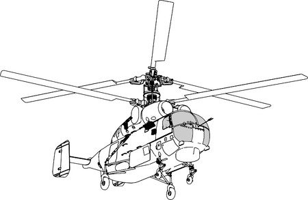 Helicopter Perspective Stock Vector - 7908959