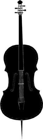 Violoncello Vector