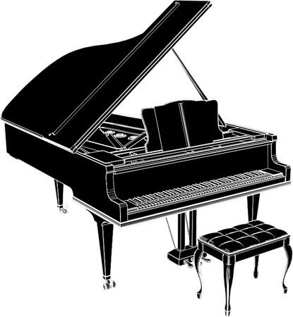 Piano 矢量图像