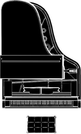 whitern: Piano Illustration