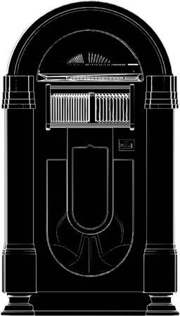 jukebox: Jukebox Vector Illustration