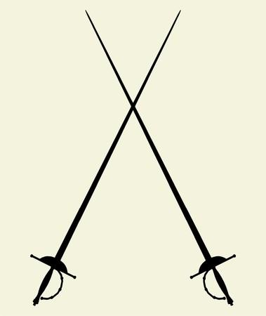 duel: Swords Vector