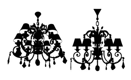 Luster Chandelier Vector Stock Vector - 7979253